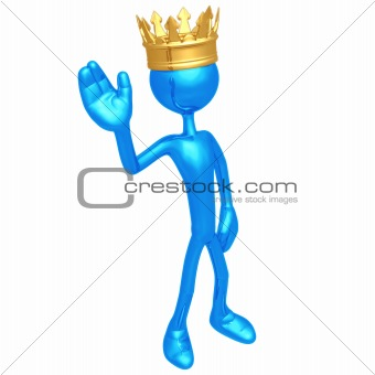 King Waving