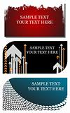 stylish business cards easily editable vector illustration
