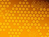 Hexagon background