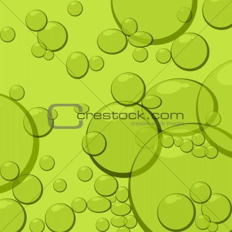 water with bubbles vector illustration
