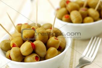 Olives, close-up