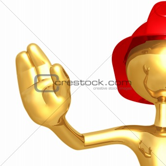 Fireman Stop Gesture