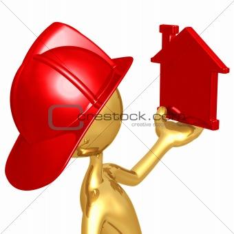 Fireman With Home