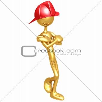 Fireman Leaning