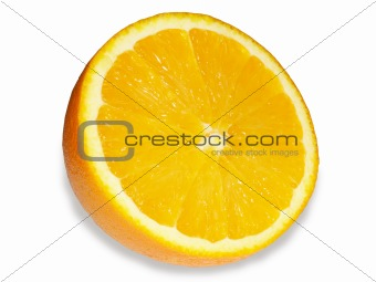 A bright, tasty orange.