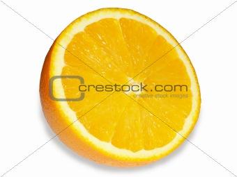 A bright, tasty orange.
