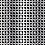 Seamless vector illustration of perforated metal plate