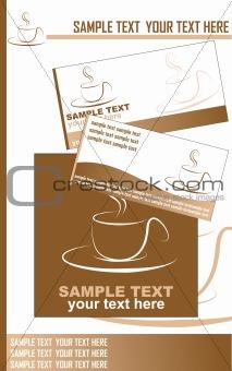 Corporate identity set vector illustration