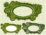 Swirly Circle Frames