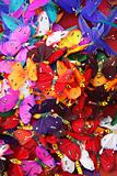 Colourful feather butterflies
