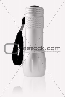 torch on a white background
