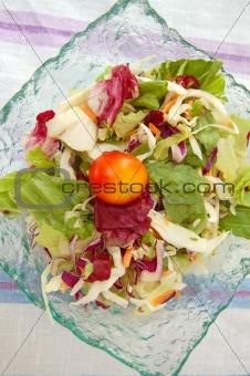mixed salad bowl