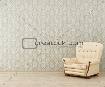Armchair in a room