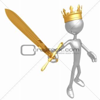 King With Sword