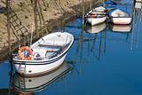 Boats in Orio´s river