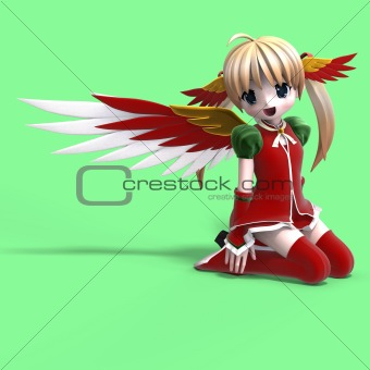 Manga Xmas Angel