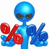Red Or Blue Percentage