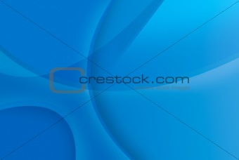 Blue abstract background with copy space