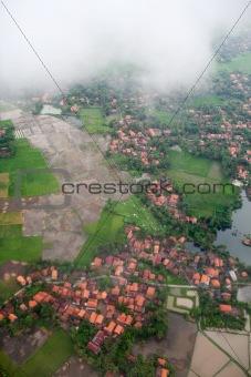 Aerial Tropical Landscape