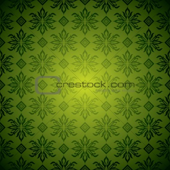 green wallpaper tile