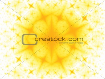 Abstract background. Light yellow - orange palette.