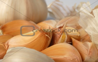 background garlic