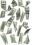 dollar rain isolated far between