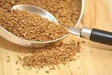coffee granules, spoon