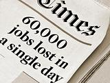 60,000 jobs lost in a single day