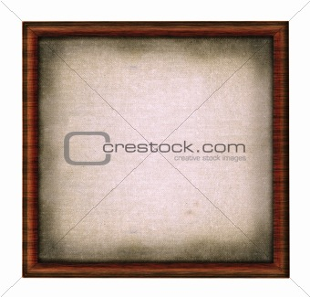 old wooden frame