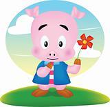 pig cute