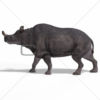 Dinosaur Brontotherium