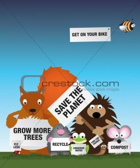 Save the environment uk wildlife