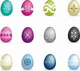 Intricate easter egg set 2