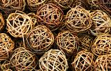 Wicker balls twisted