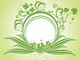 creative abstract background, patrick's day