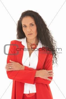Adult businesswoman