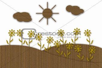 Cardboard Garden