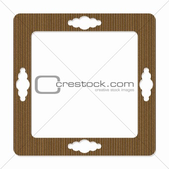Cardboard Abstract Frame