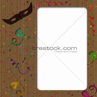 Cardboard Carnival Frame