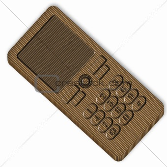 Cardboard Cell Phone