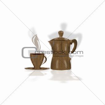 Cardboard Italian Coffee Break