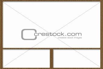 Cardboard Photo Album With Rectangular Frames