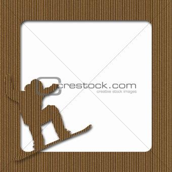 Cardboard Snowboard Frame