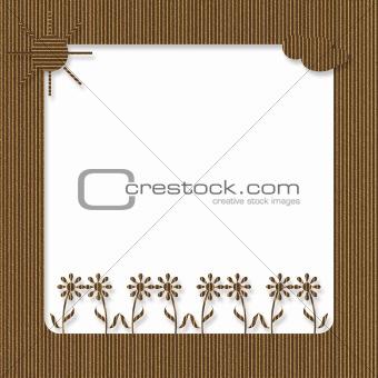 Cardboard Spring Frame