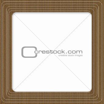Cardboard Square Frame