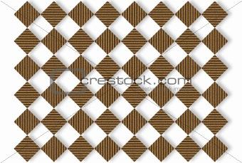 Cardboard Squares Background