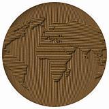 Cardboard World Globe