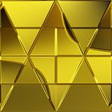 geometric gold background