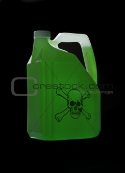 Can with biohazard content